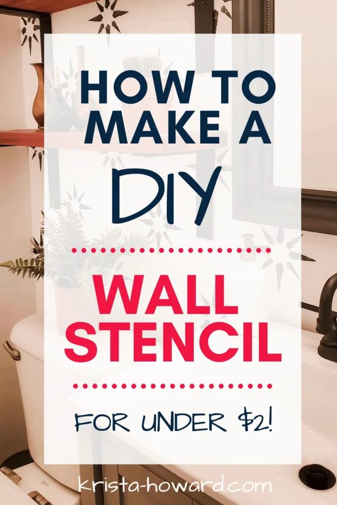 How to Make a DIY Wall Stencil