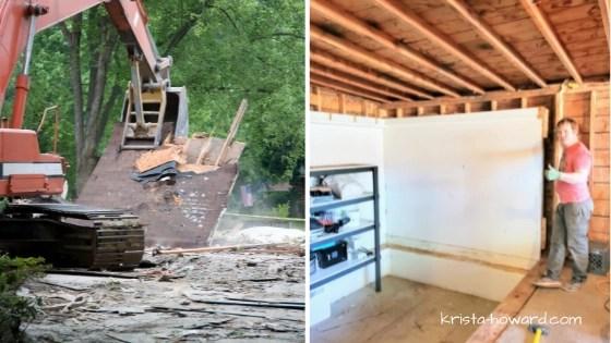 Types of Garage Demolition