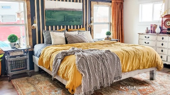 Colorful Boho Bedroom Ideas