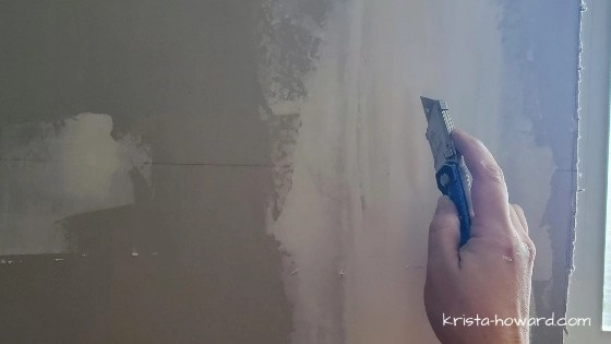 Bubbles in Drywall Tape