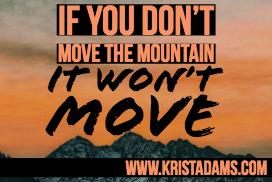 Move the mountain