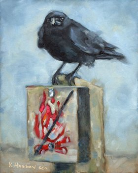 "This Art Show is for the Birds!  ""In Fine Feather"" at Fog Forest Gallery"