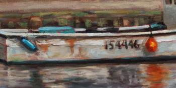 Maritime fishing boat detail by Krista Hasson