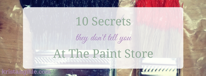 10 secrets they don't tell you at the paint store