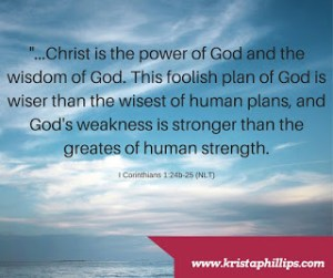 Verse of the Day – 1 Corinthians 1:24-25