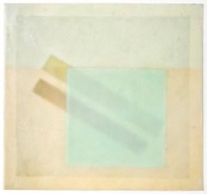 RESONANCE 6 - Wax, Digital Photogram On Paper 8x8 - 2011