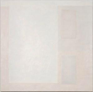 Krista Svalbonas - Transparency 6 - Wax and Pastel on Doorskin - 36x36 - 2012