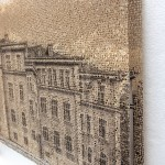 Kempten 1, layered laser cut pigment print, 14x21,2018