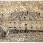 Muhldorf, laser cut pigment print, 14x21, 2020