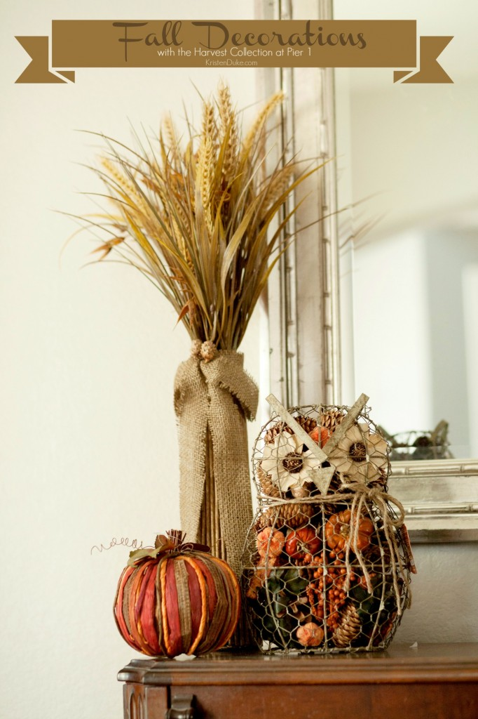 Fall Decorations At Pier 1