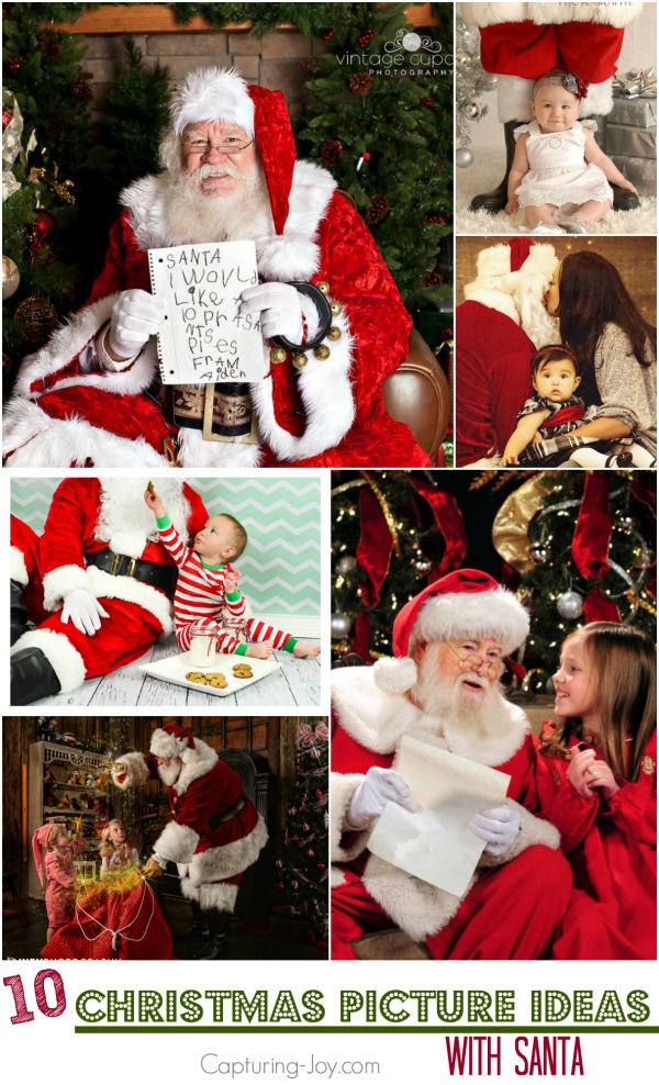 10 Christmas Picture Ideas With Santa Festive Santa