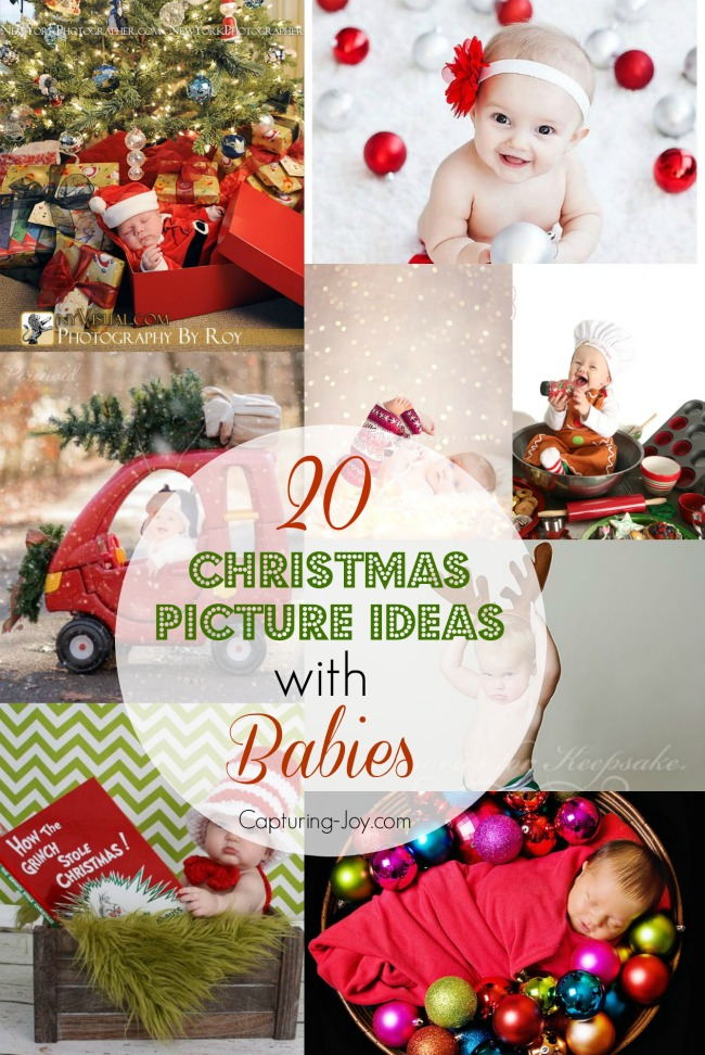 20 Christmas Picture Ideas With Babies Capturing Joy