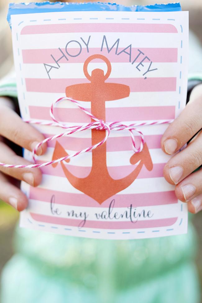 Ahoy Matey Valentine Printable Capturing Joy With