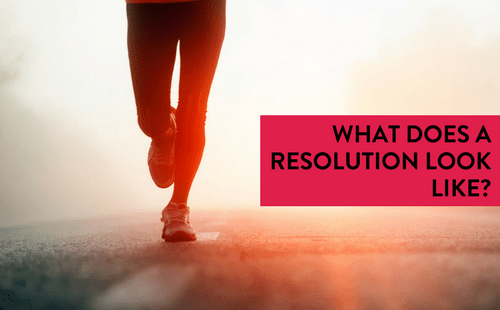 What does a resolution look like?