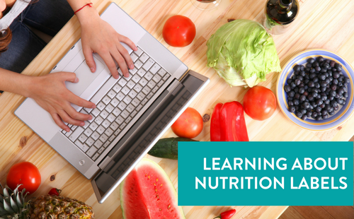 Learning About Nutrition Labels