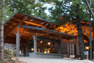 North Cascade Institute Learning Center near Newhalem WA