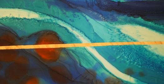 "©2013 Gilje ""Zion's Waterfall"" det. 3/4 finished"