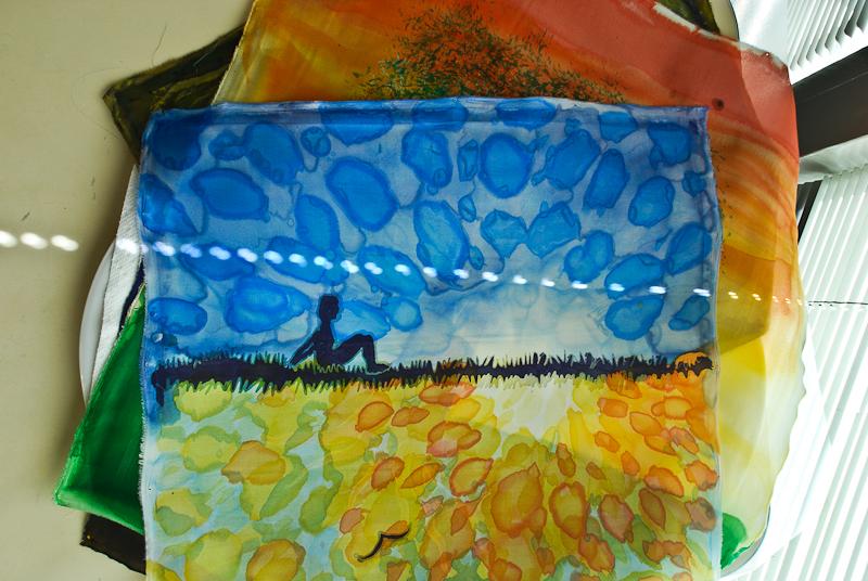 Carey Inst. Aug 2012 silk painting workshop
