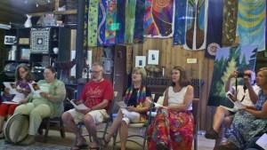 Singing Silk Painters, Grunewald Guild, Aug 2012