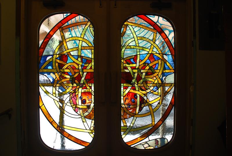 Kristen Gilje, Grunewald Guild doors from inside