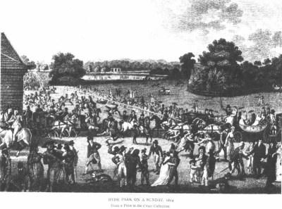 Regency London Landmark: Hyde Park