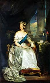 Regency Era Royal Family: Portrait of Queen Victoria