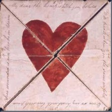 Regency Valentine: Oldest mailed Valentine's card from 1790, now at British Postal Museum.