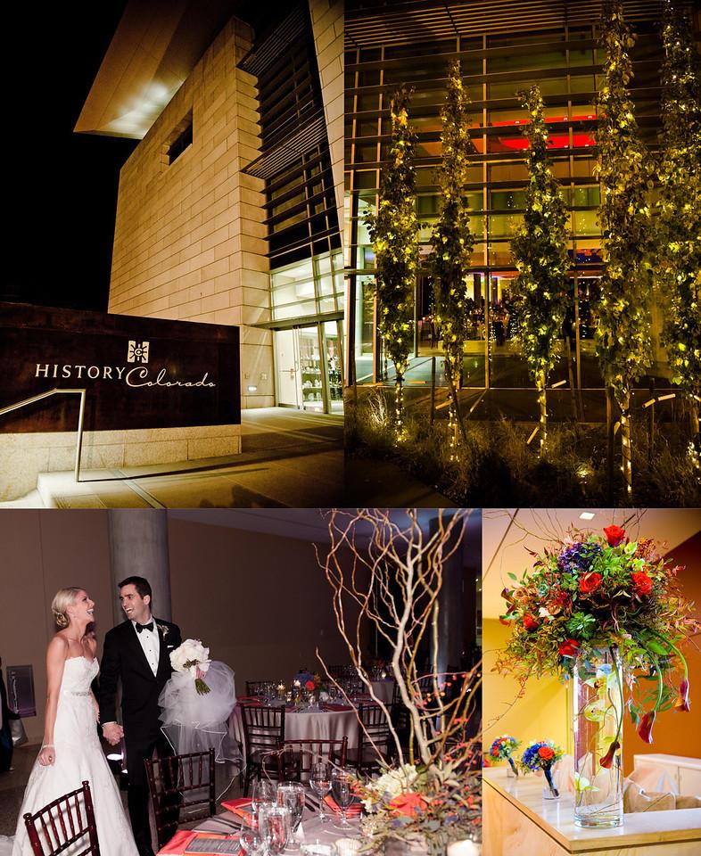 History Colorado wedding