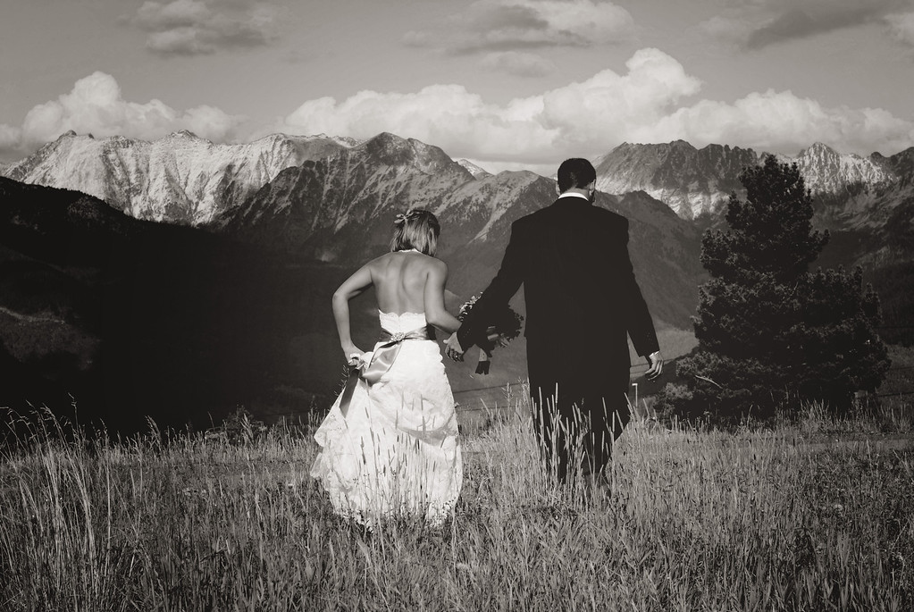 Fall Vail Colorado wedding