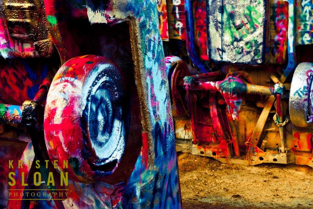 Cadillac Ranch Car Art