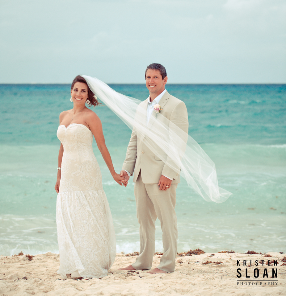 beach wedding caribbean