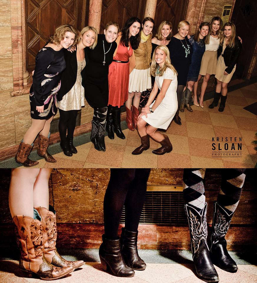cowboy boots wedding rehearsal