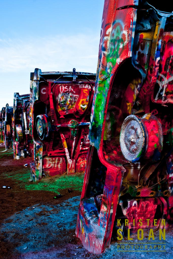 Cadillac Ranch Car Art