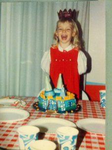Embarrassing childhood photo (thanks, Mom)