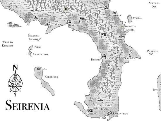 Map of Seirenia