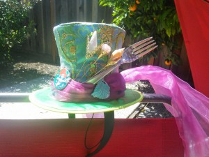 Mad T Party hat by Disney, modified by me