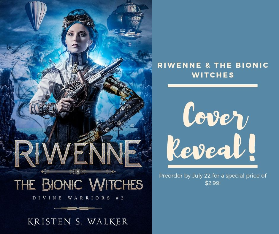 Read more about the article Cover Reveal: Riwenne & the Bionic Witches