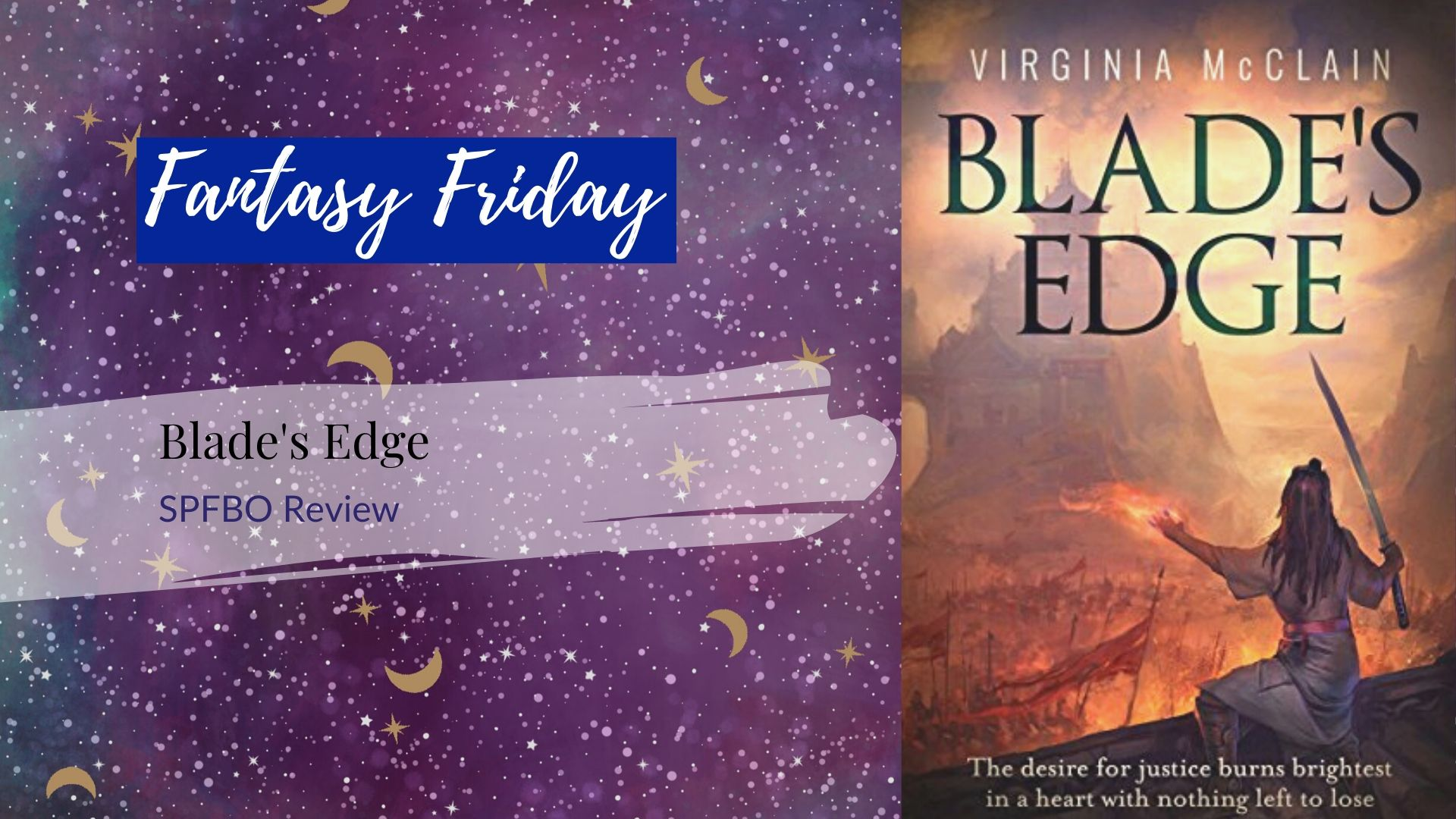 Read more about the article #SPFBO Review: Blade's Edge by Virginia McClain