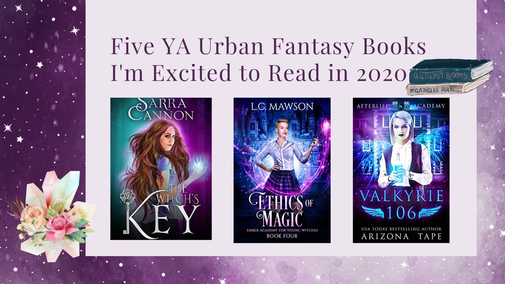 5 YA Urban Fantasy Books I'm Excited to Read in 2020