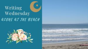 Read more about the article Writing Wednesday: Alone at the Beach