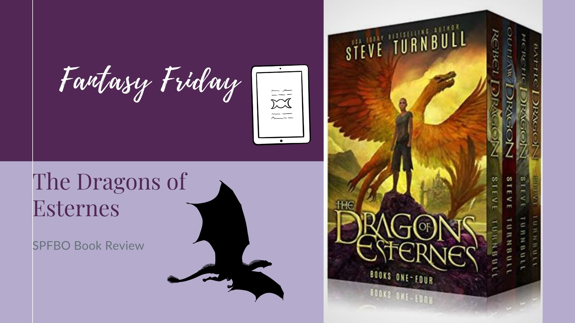 You are currently viewing Fantasy Friday: The Dragons of Esternes by Steve Turnbull