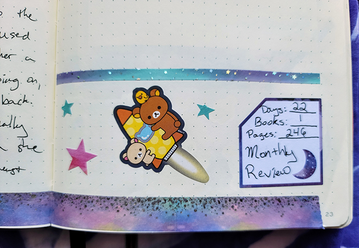 January monthly review