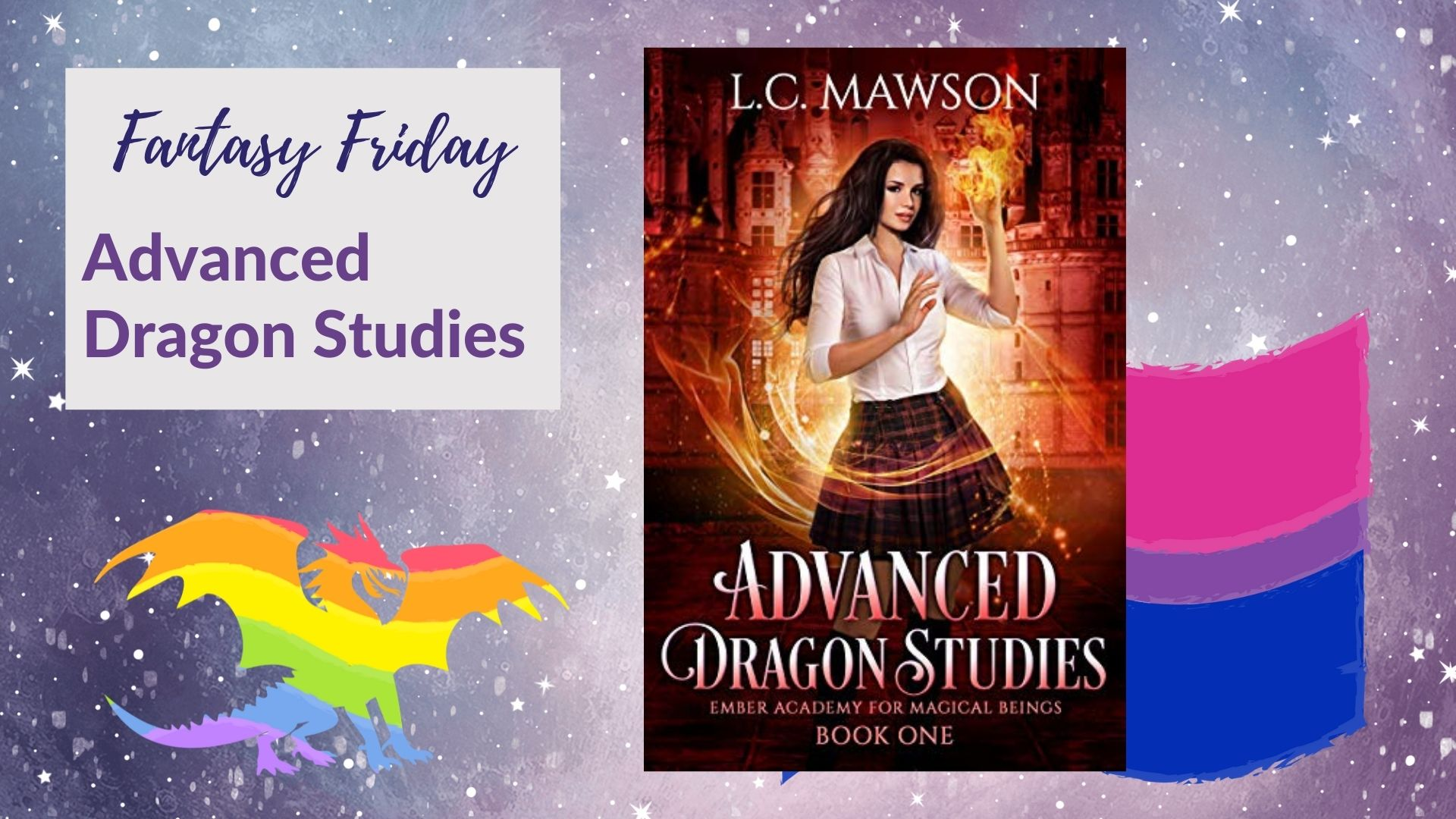 Read more about the article Fantasy Friday: Advanced Dragon Studies by L. C. Mawson