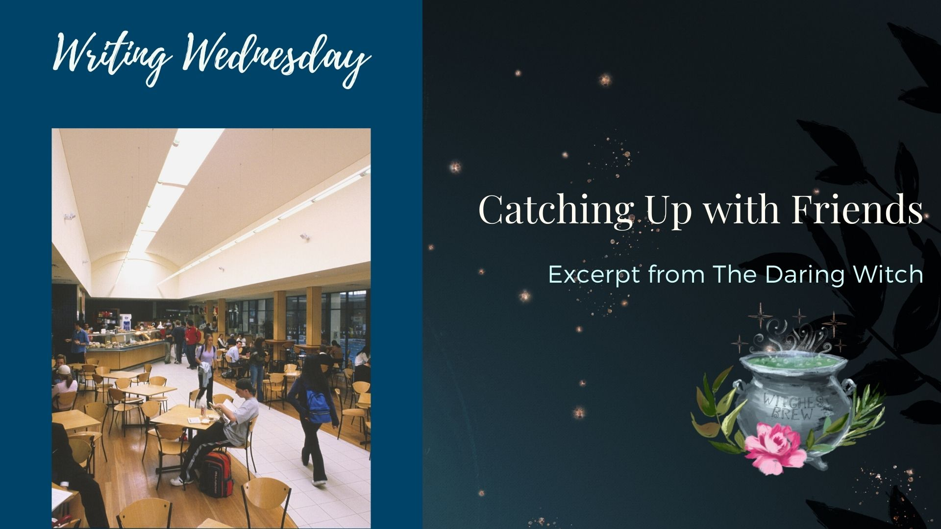 Read more about the article Writing Wednesday: Catching Up with Friends