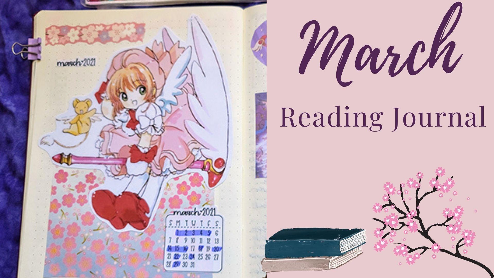 March Reading Journal: Sakura Theme