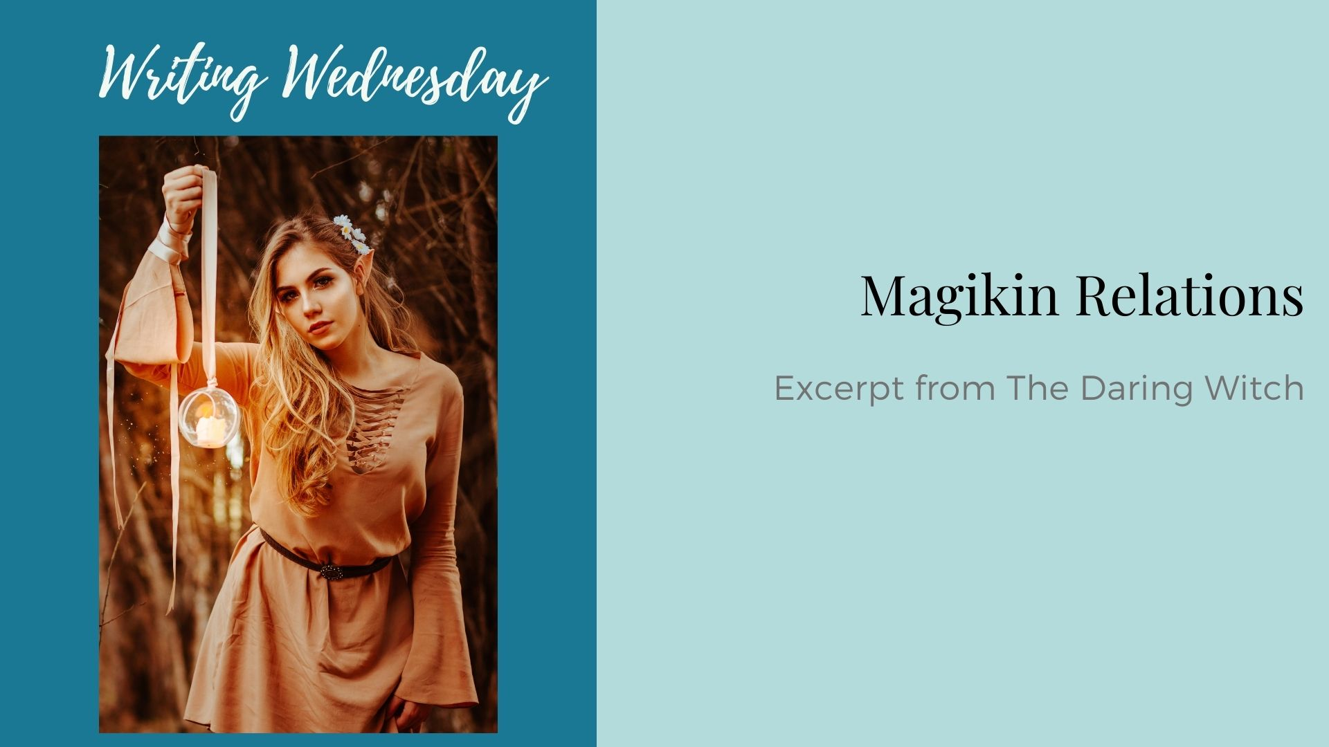 Read more about the article Writing Wednesday: Magikin Relations