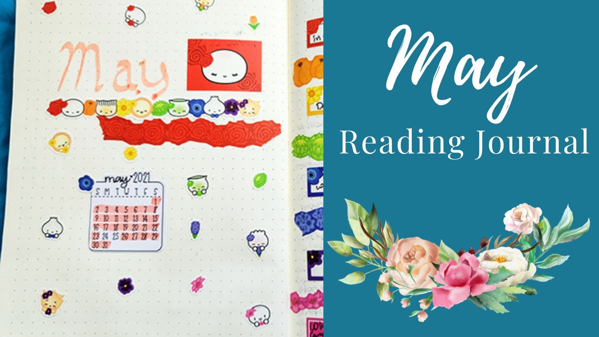 Read more about the article May Reading Journal: Flower Theme