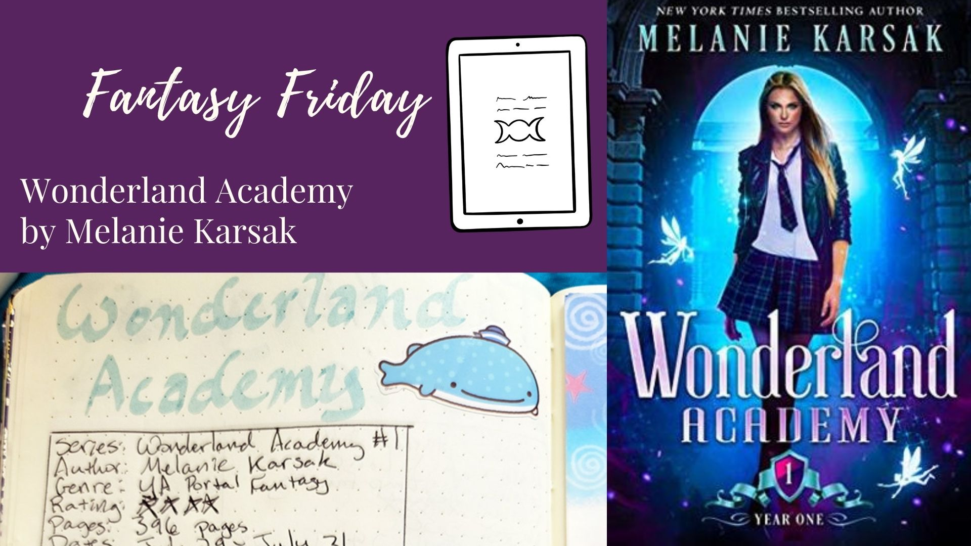 Read more about the article Fantasy Friday: Wonderland Academy by Melanie Karsak