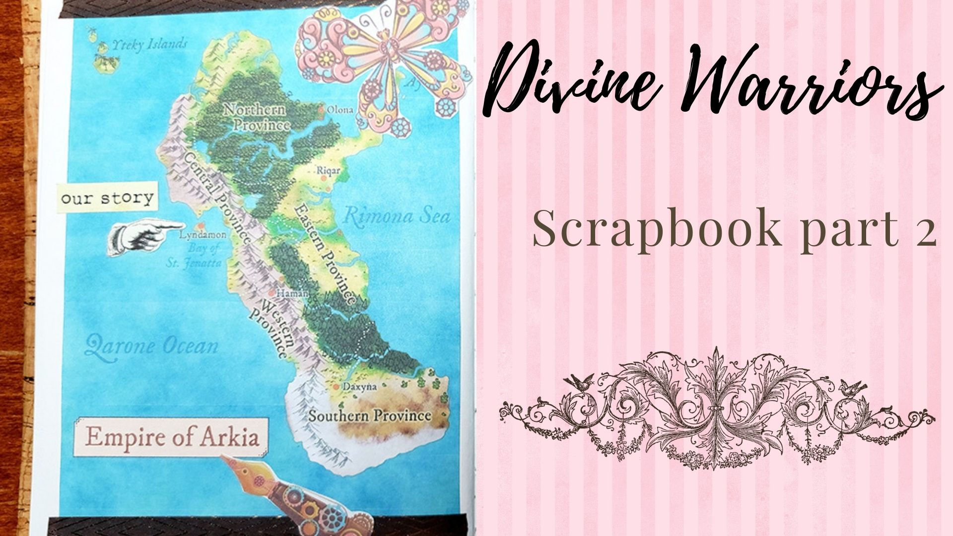 Read more about the article Divine Warriors Scrapbook part 2