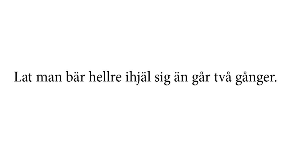 Massor med populära och roliga svenska ordspråk